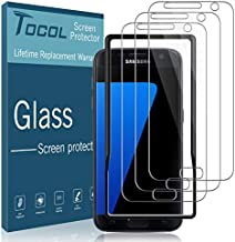 TOCOL [3Pack] for Samsung Galaxy S7 Screen Protector Tempered Glass HD Clarity Touch Accurate [9H Hardness] Easy Installation Tray
