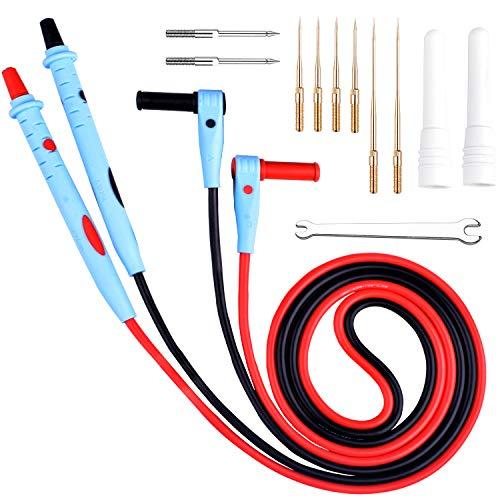 Multimeter Sonde, UNIROI Multimeter Kabel, 13pcs elektronische Messleitungen Kits, professionelles Verlängerungskabel Prüspitze UW018