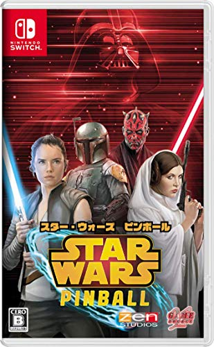 Game Source Entertainment Star Wars Pinball for NINTENDO SWITCH REGION FREE JAPANESE VERSION