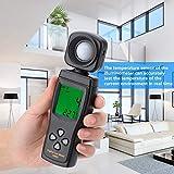 𝐂𝐡𝐫𝐢𝐬𝐭𝐦𝐚𝐬 𝐆𝐢𝐟𝐭 Medidor de luz Medidor de iluminancia digital, Mini pantalla LCD AS803 Luxómetro digital Medidor de luz -10~50 ℃ para ingeniería, control de calidad