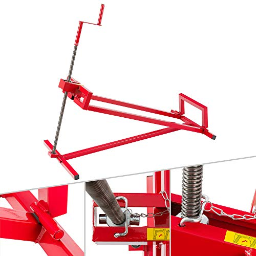 Arebos Lève-tondeuse Tracteur-tondeuse...