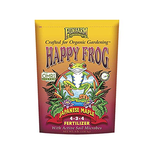 Happy Frog Japanese Maple Organic Plant Fertilizer