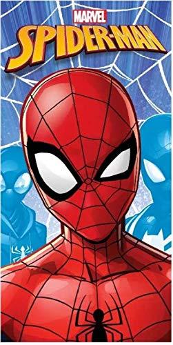 Telo Mare Spiderman Asciugamano da spiaggia in microfibra CM. 140X70 asciugatura rapida,...