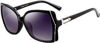 Vintage Womens Sunglasses PARZIN Rectangular Polarized Eyewear for Mens Driving Travel,UV400 Protective