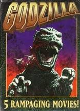 Godzilla - Godzilla: King of The Monsters / Godzilla Vs. Mothra / Godzilla Vs. Monster Zero / Godzilla's Revenge / Terror of Mechagodzilla (5 tape set)