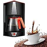 Máquina de café, 15 Copas de filtro Cafetera Con Cafetera, filtro de café de la máquina de un toque, anti-goteo de diseño, filtro extraíble y el embudo WTZ012