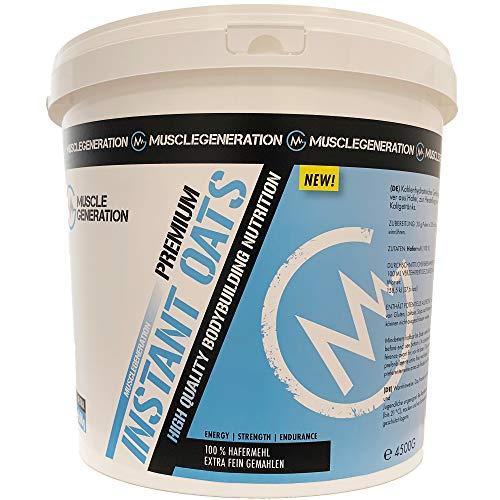 Musclegeneration Instant Oats Premium 4500 g | feinstes Hafermehl | guter Kohlenhydratlieferant