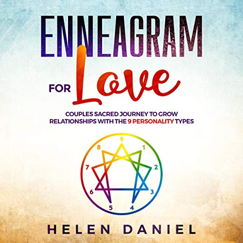 『Enneagram for Love: Couples Sacred Journey to Grow Relationships with the 9 Personality Types』のカバーアート