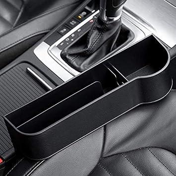 conductor principal MaikcQ Caja de almacenamiento multifuncional para asiento de coche caja de almacenamiento multifuncional para asiento delantero