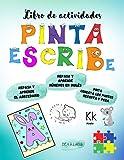 LIBRO DE ACTIVIDADES | Pinta y escribe | Repasa y aprende el abecedario | Repasa y aprende los números en Inglés | Pinta | Conecta los puntos | ... y 6 años | Más de 100 páginas de actividades.