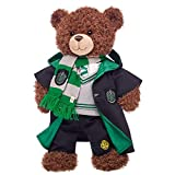 Build A Bear Workshop Harry Potter Bear with Slytherin House Robe, Scarf & Hogwarts Pants, 16 Inches