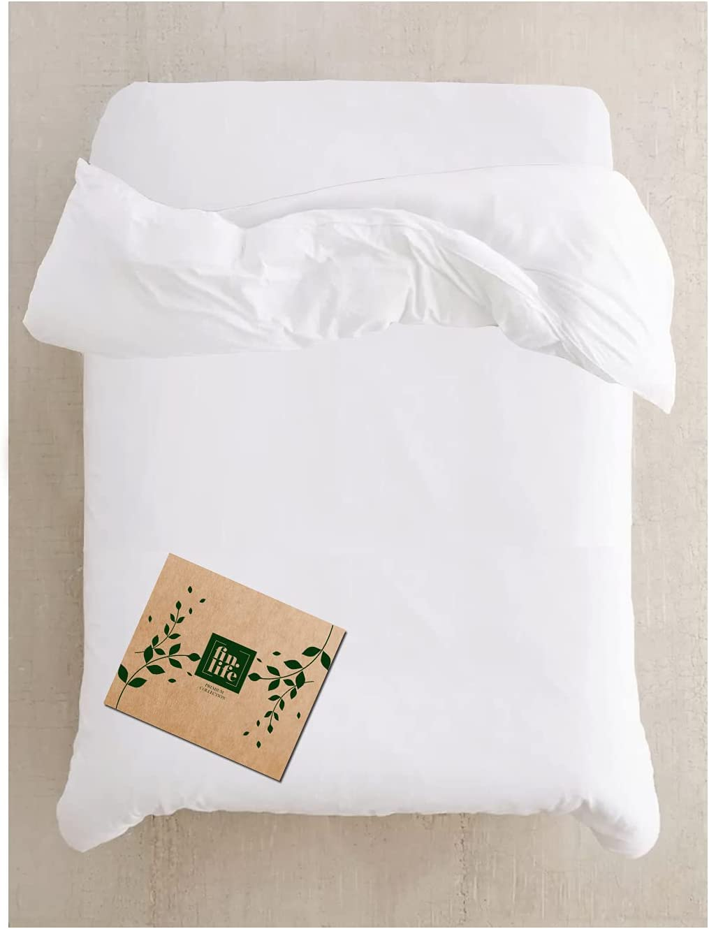 Duvet Cover Queen Size Full - Cotton White 100% Limited overseas Special Price Snow Du