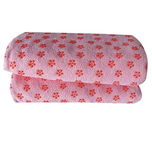 Vitila Esterilla Pilates Pequeña Toalla Microfibra 72x25in/183x63cm Toalla Secado Rapido para Hot Yoga Bikram Ashtanga Y Pilates Free Carry Bag