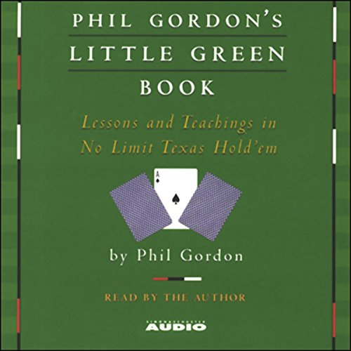 Phil Gordon's Little Green Book audiobook cover art