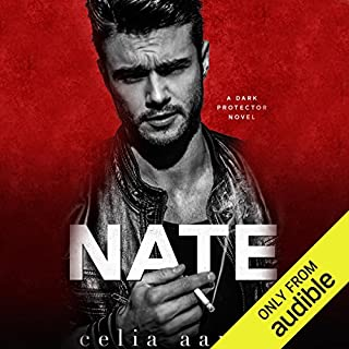Nate     A Dark Protector Novel              Written by:                                                                                                                                 Celia Aaron                               Narrated by:                                                                                                                                 CJ Bloom,                                                                                        Joe Arden                      Length: 6 hrs and 39 mins     1 rating     Overall 4.0