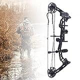 YIYIBYUS Archery Compound Bow Arrow Set Four-pin Sight with Arrow Box, 35-70lbs