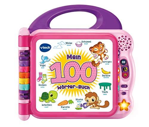 Vtech Mein 100-Wörter-Buch pink, Babyspielzeug, Mehrfarbig