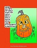 hauska halloween värityskirja helppo taso lapsille aikuisil