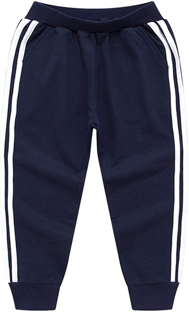 Recommendation DCUTERQ Boys' Jogger Pant Cotton Sports Active Super sale period limited Sweatpant Toddler