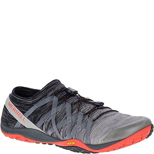 Merrell Trail Glove 4 Knit, Zapatillas de Running para Asfalto para Hombre, Gris...