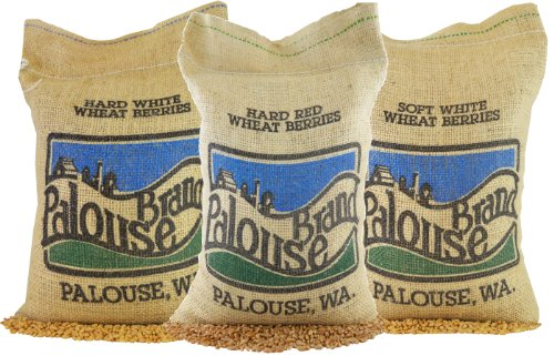 Hard White Wheat • Soft White Wheat • Hard Red Spring Wheat • 100% Desiccant Free • 15 lbs • Non-GMO Project Verified • Kosher Parve • USA Grown • Field Traced • (5 Pound, Pack of 3)