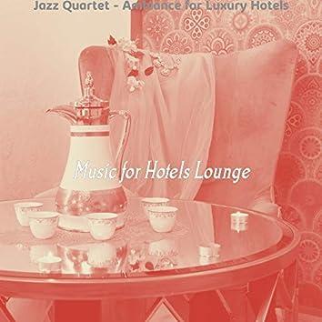 Jazz Quartet - Ambiance for Luxury Hotels