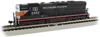 Bachmann Trains EMD SD9 Sound Value Equipped Locomotive - Southern Pacific #5472 (Black Widow) - N Scale, Prototypical Col...