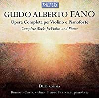 Complete Works for Violin & Piano by Fano (2014-01-14)