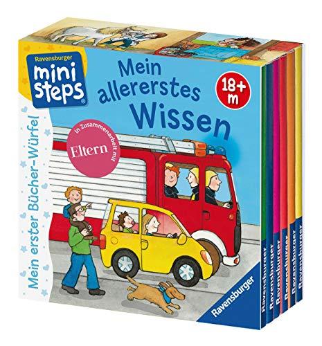 Mein erster Bücher-Würfel: Mein allererstes Wissen (Bücher-Set): Ab 18 Monaten (ministeps Bücher)
