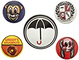 The Umbrella Academy - Insignias (10 x 12,5 cm), Multicolor
