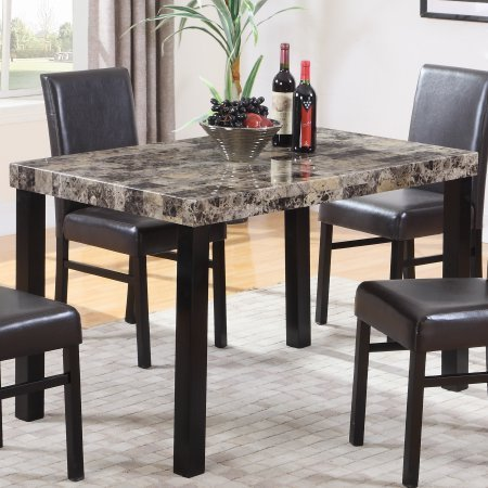 Best Master Furniture Britney Dining Table Only, Espresso
