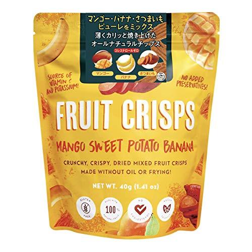 フルーツクリスプ マンゴー・さつまいも・バナナ ×24袋