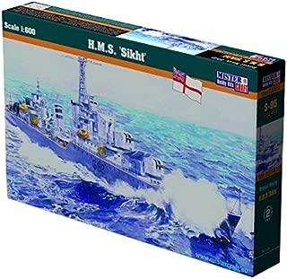 MisterCraft MCS95 1:600 Scale H.M.S Sikht Model