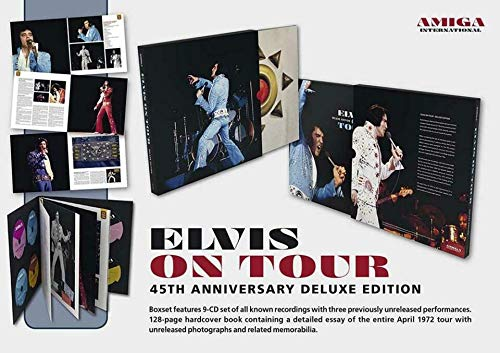 Elvis Presley Boxset On Tour 45th Anniversary Deluxe Edition - 9 CD's + Buch