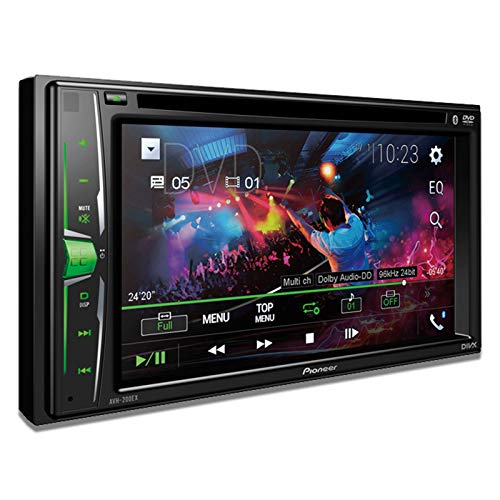 Pioneer AVH-200EX Multimedia DVD Receiver with Built-in Bluetooth