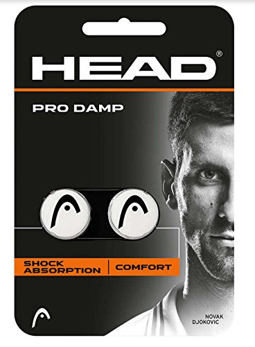Head Pro Damp - Antivibradores de Tenis, Color Blanco