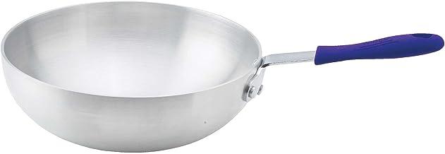 Winco Aluminum Stir Fry Pan, 11-Inch,Silver