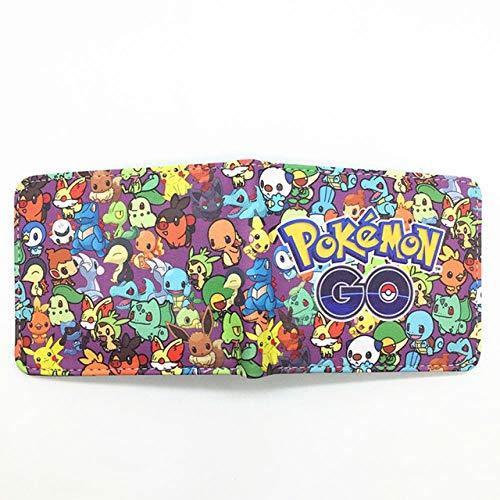 Wallet portemonnee vogel vlam bal elf portemonnee monster leuke cartoon tas voor jongens tas van leer voor meisjes