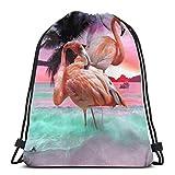 LREFON Mochila con cordón para gimnasio, mochila con corona roja, bolsa para almacenamiento deportivo, organizador de...