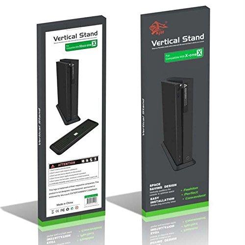 Xbox One X Base Vertical (Negra)