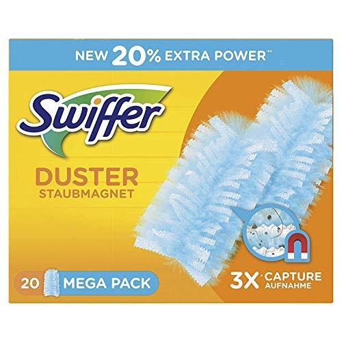 Swiffer Stofmagneet doekjes navulverpakking, 60 stuks, (3 x 20 doekjes)