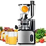 Aobosi Slow Masticating Juicer 83mm(3.15inch) Wide Chute Juice Extractor Cold Press Juicer...