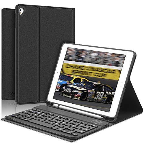 KVAGO Teclado con Funda para iPad 9.7 Pulgadas Compatible...
