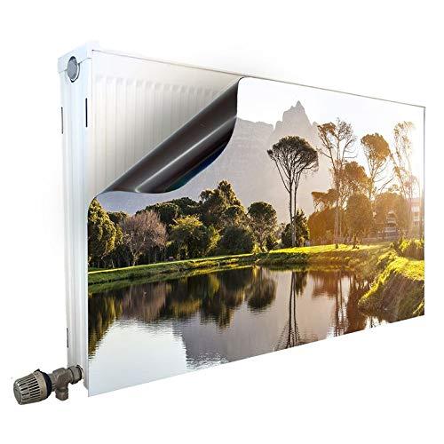 Smagnon magneet radiatorombouw radiatorafdekking verwarming motief panorama