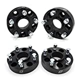 LU HWN 4X4 5x5 Wheel Spacers 1.5 inch with 14x1.5 Studs for Jeep Grand Cherokee WK2 2011-2019, Wrangler JL 2018-2019, Pack of 4