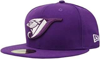 59Fifty Hat Toronto Blue Jays MLB Basic Major League Purple Fitted Cap