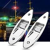 1 Paar Navigationsleuchten für Boote