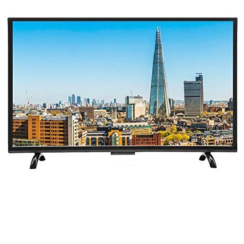Regalo De Abril Smart TV de Pantalla Curva Grande de 32 Pulgadas, 3000R Curvature HDR HD TV versión de Red(EU)