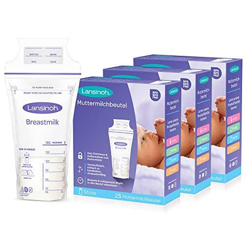 Lansinoh Muttermilchbeutel - 75 Stück Sparpack