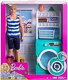 Mattel Ken Y Mobiliario Lavadora Barbie